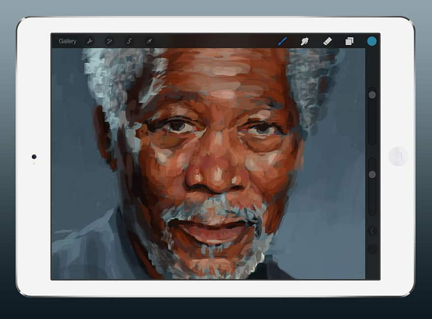 painting-morgan-freeman