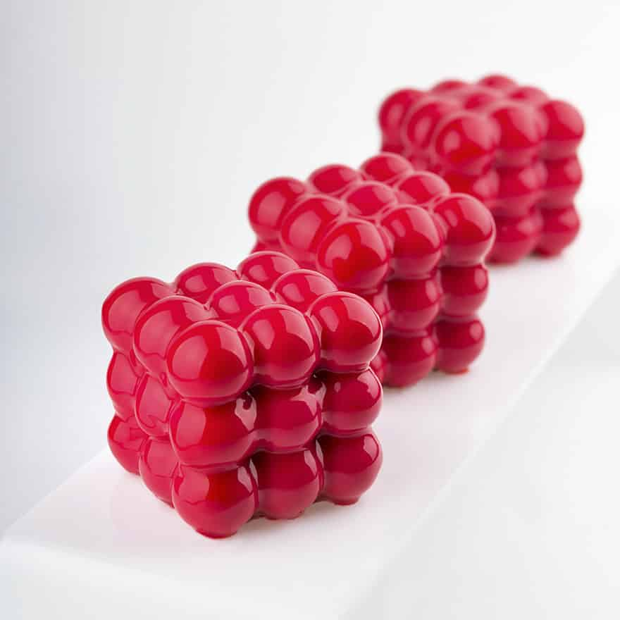 geometrical_cake_red