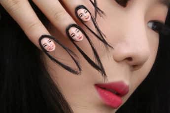 hair-selfie-nails-art-tiny-faces-designdain