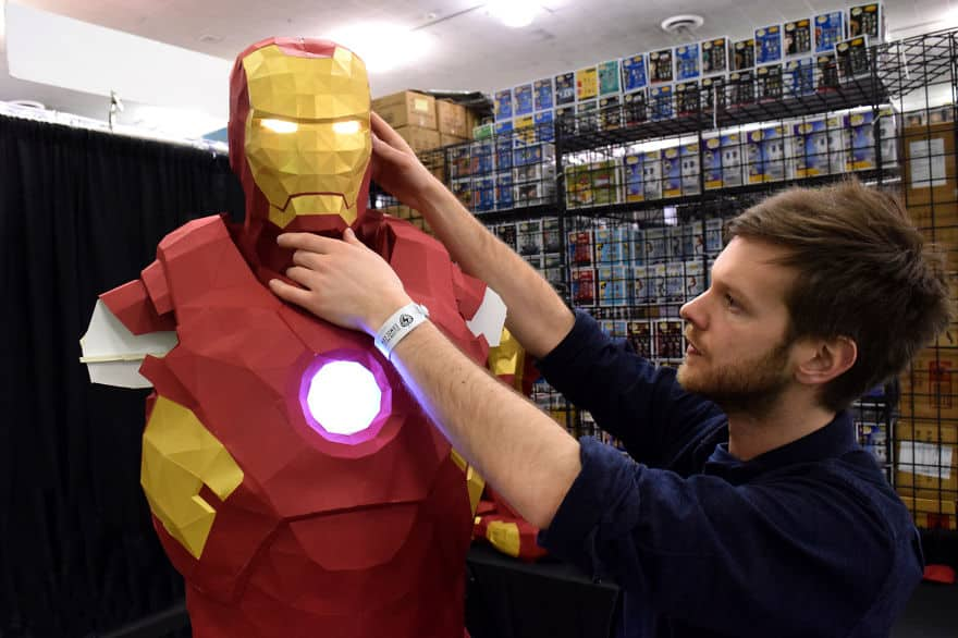 making_iron_man_3d_paper