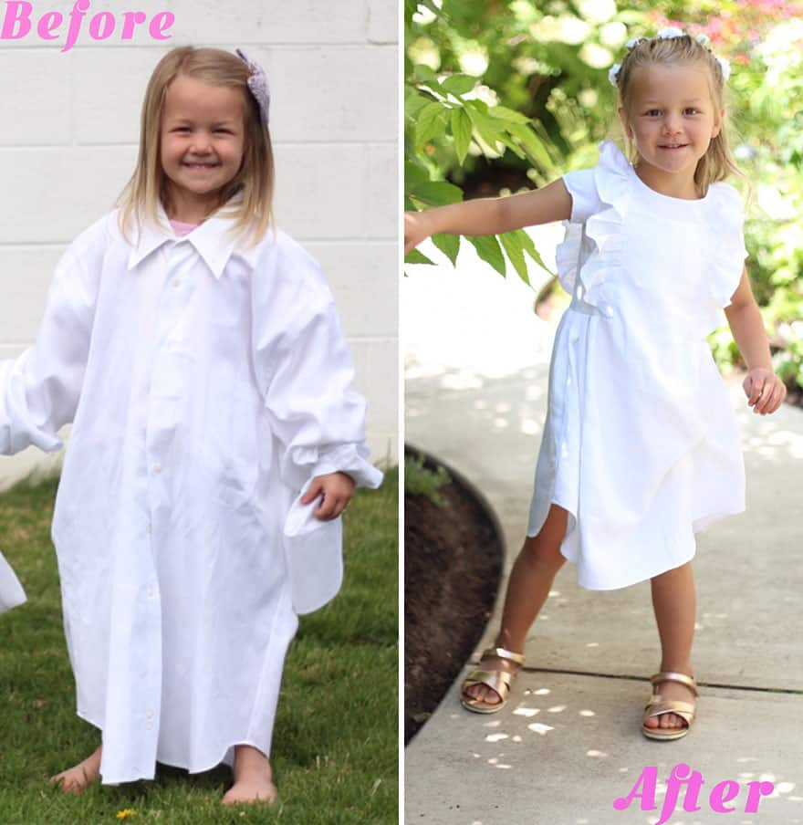 old_shirt_dress_child